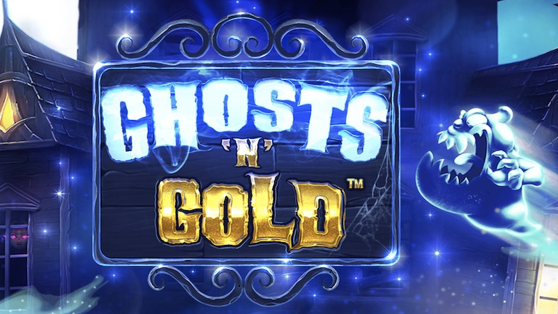 ghosts n gold slot logo