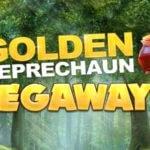 golden leprechaun megaways slot logo