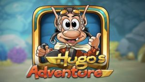 hugos adventure slot logo
