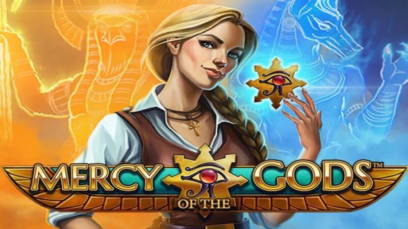 mercy of the gods slot logo