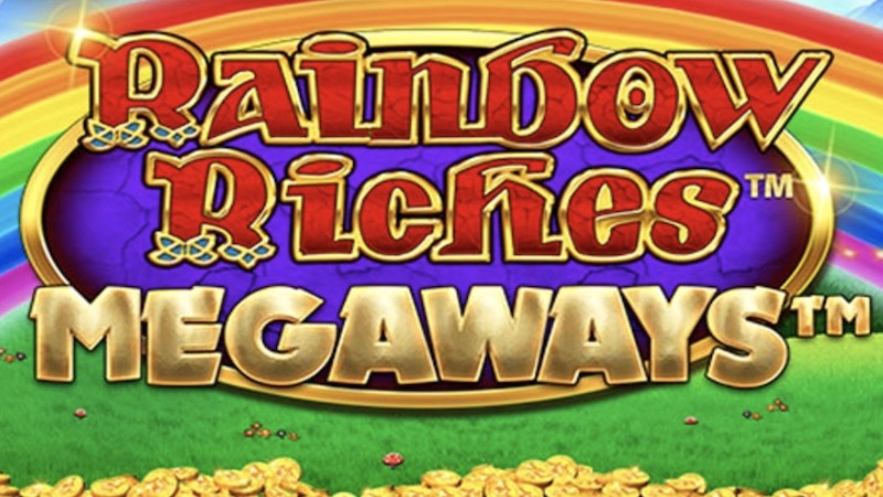 rainbow riches megaways slot logo