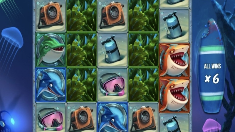 razor shark slot gameplay