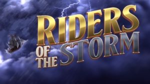 riders of the storm slot logo