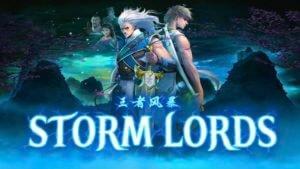 storm lords slot logo