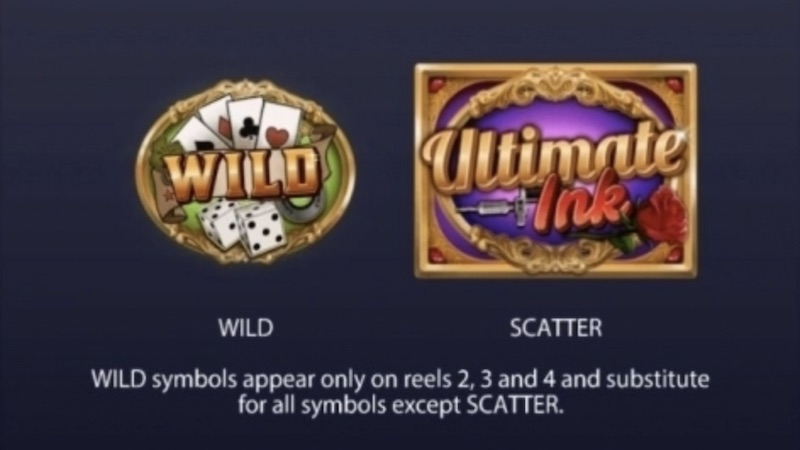 ultimate ink slot rules