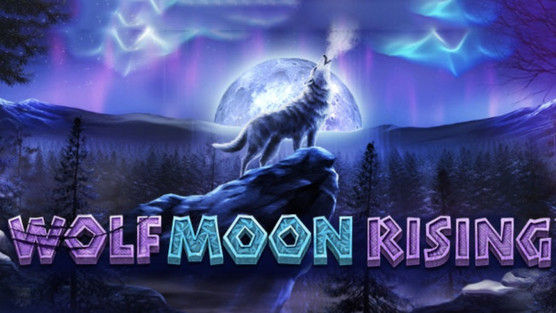 wolf moon rising slot logo