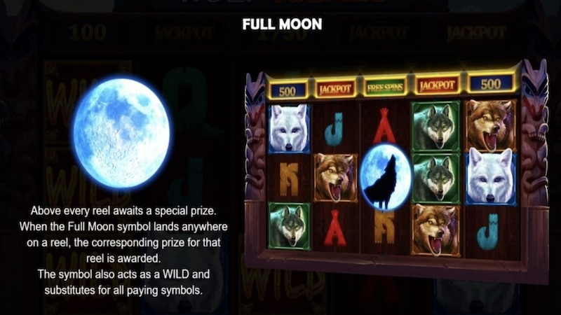 wolf riches slot rules