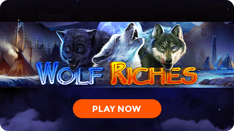 wolf riches slot signup
