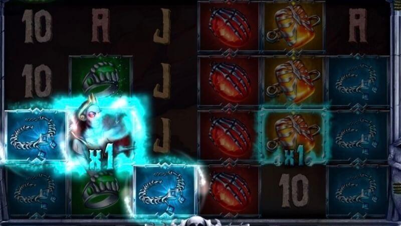zombie queen slot gameplay