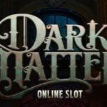 a dark matter slot logo