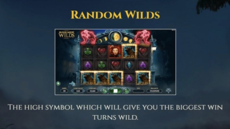 blood moon wilds slot rules