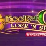 book of oz lock n spin slot logo