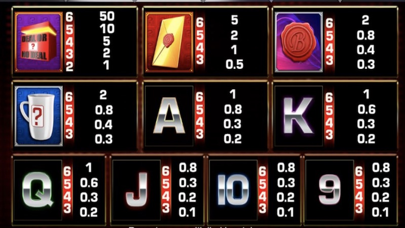 deal or no deal megaways slot gameplay