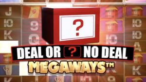 deal or no deal megaways slot logo