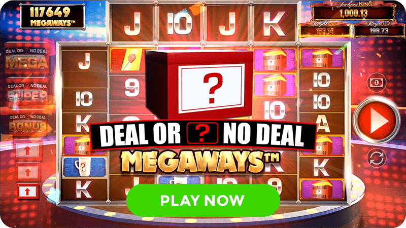 deal or no deal megaways slot signup