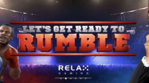 lets get ready to rumble slot logo