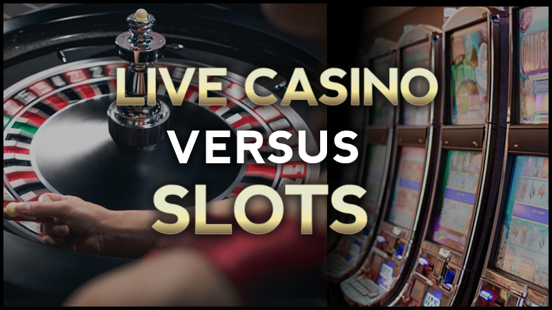 Are Players Switching from Slots to Live Casino Games?