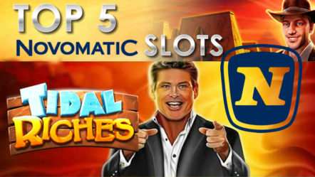 The Top 5 Novomatic Slots of All Time