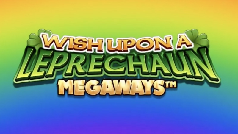wish upon a leprechaun megaways slot logo