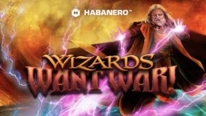 wizards want war slot logo