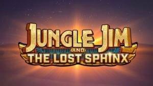 jungle jim and the lost sphinx slot logo