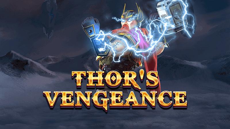 thors vengeance slot logo