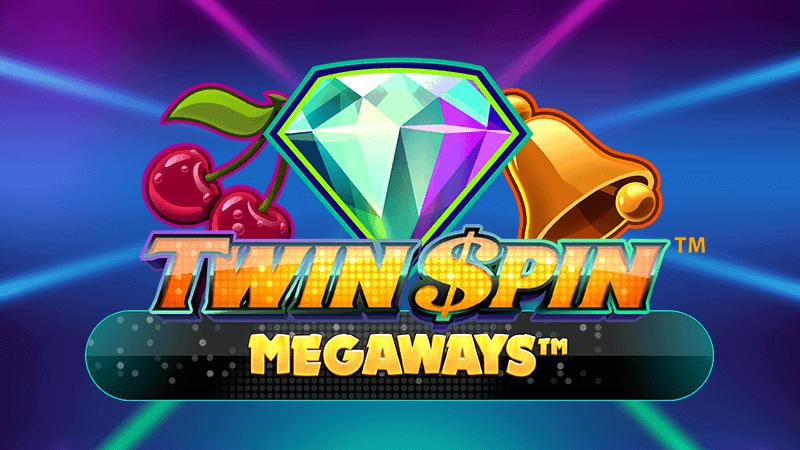 twin spin megaways slot logo
