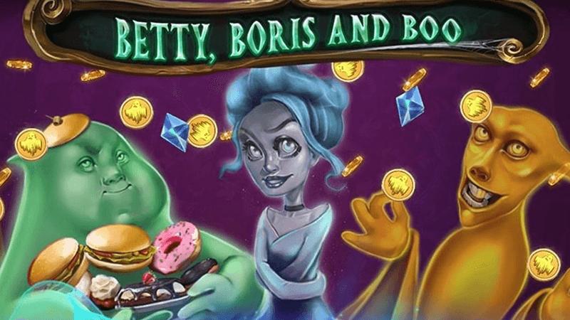 betty, boris and boo slot logo