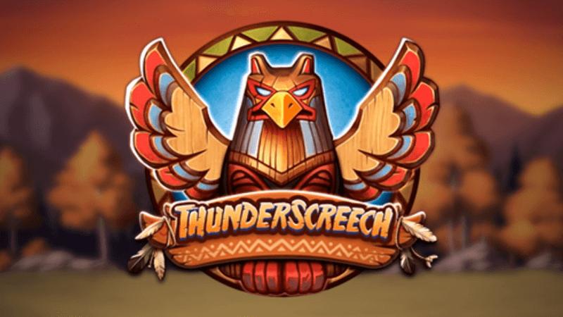 thunder screech slot logo